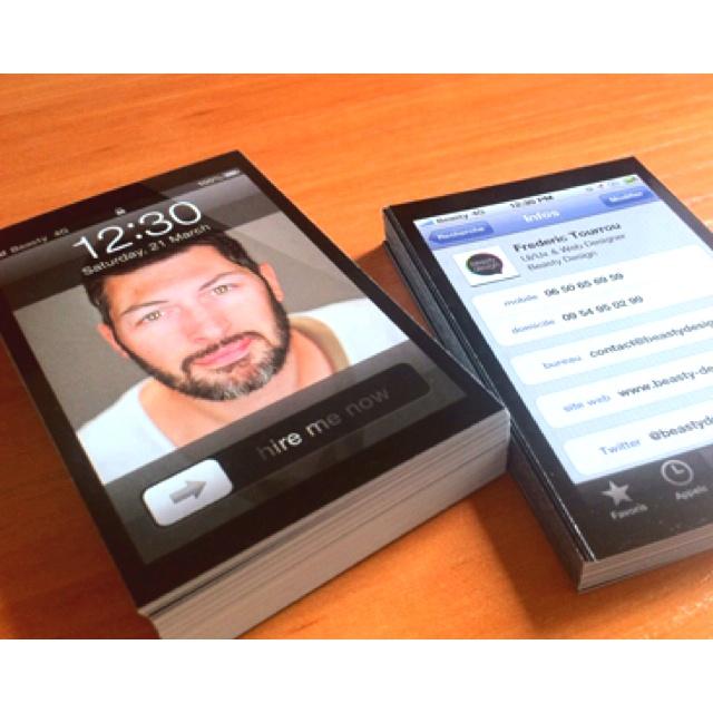 http://creattica.com/business-cards/iphone-business-cards/80808: Visit Cards, Creative Business Cards, Cards Ideas, Iphone Business, De Visit, Business Card Design, Carts De, Graphics Design, Business Cards Design