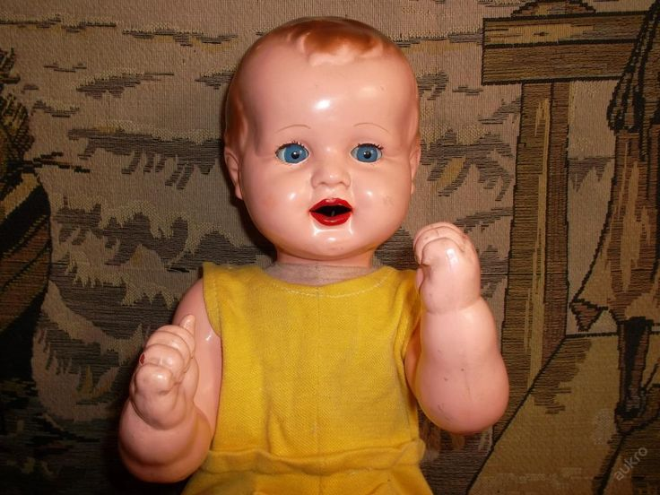 Star� panenka - miminko - hadrov� t�lo, p�sti