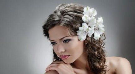 68 Ideas Wedding Hairstyles Straight Hair Medium Length - Wedding Idea, Wedding Dress, Wedding Hair Style, Bridal Shoes # Hairstyle # Hairstyles #Fris ...