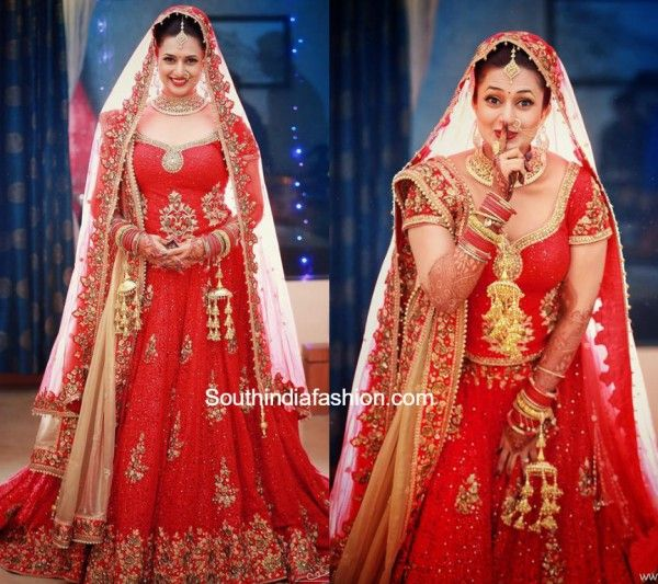 Divyanka Tripathi and Vivek Dahiyas Wedding photo