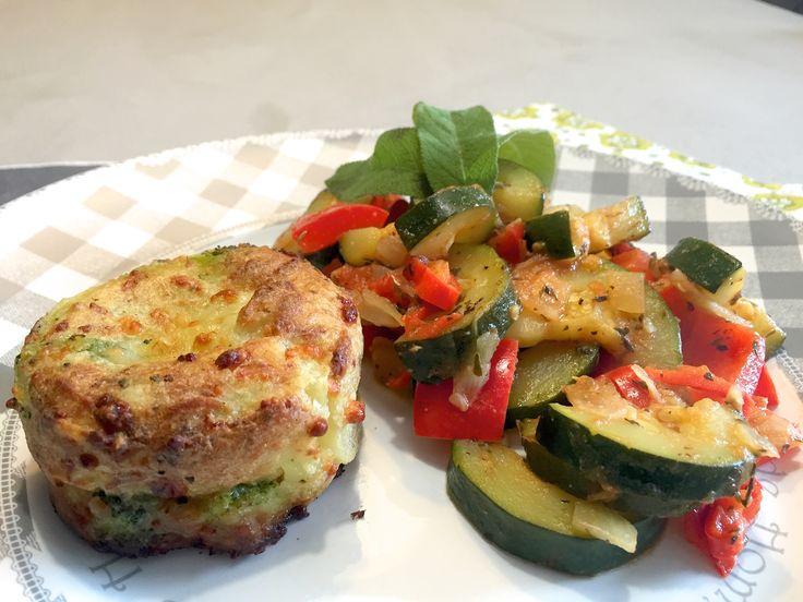 Nieuw recept: Courgette ratatouille met mini broccoli gratin  http://wessalicious.com/courgette-ratatouille-met-mini-broccoli-gratin/
