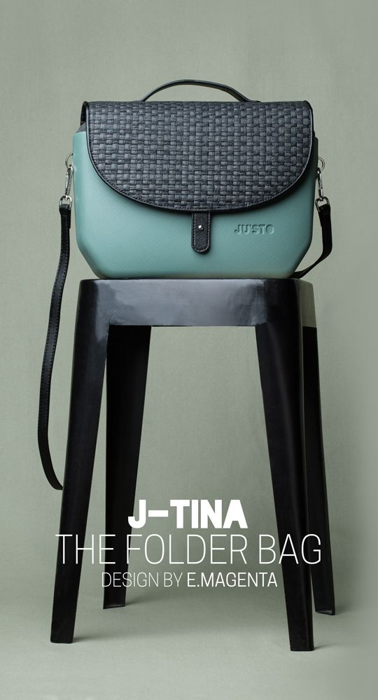 J-TINA, the folder bag! Disponibile su https://shop.justo-store.com/it/102-j-tina