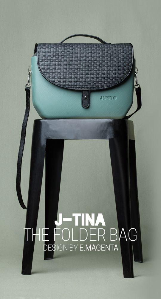 J-TINA, the folder bag! Disponibile su https://shop.justo-store.com/it/102-j-tina