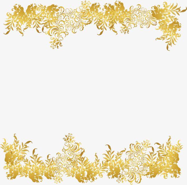 Golden Flower Rattan Frame Flower Clipart Frame Clipart Gold Png Transparent Clipart Image And Psd File For Free Download Flower Border Png Golden Flower Flower Clipart