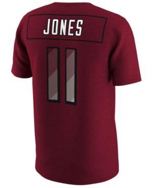 Nike Men's Julio Jones Atlanta Falcons Pride Name and Number Prism T-Shirt - Red XXL