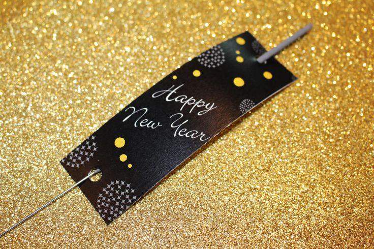 FREE New Year's Eve sparkler printable; FREE NYE printables