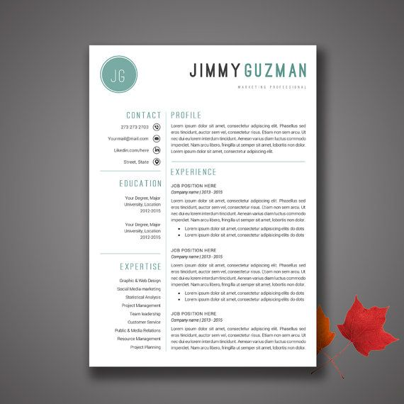 31 best LAYOUT RESUMÉ images on Pinterest Cv template, Cover - professional cover letters