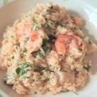 Foto recept: Risotto met garnalen en coquilles