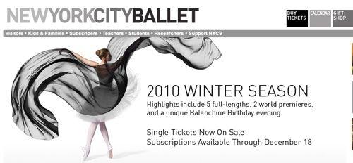 New York City Ballet Tickets #1
