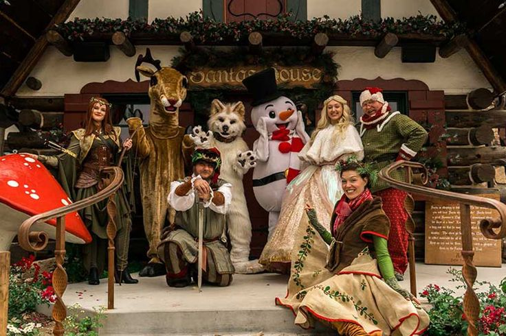 Northwoods Characters - Santa's Village Attractions