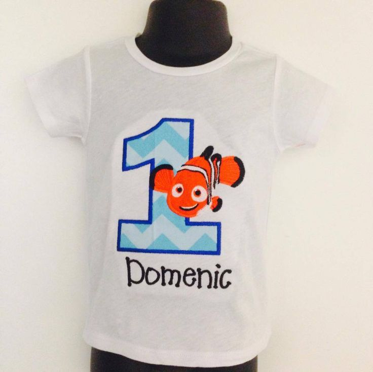 This shirt comes with a machine embroidered birthday design, your child's age & Free Personalization! We use Kavio brand Blanks. To view the size chart Click here: SIZE CHART *SHORT SLEEVE UNISEX TEE/