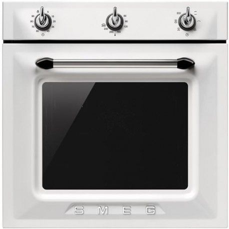 """60cm \\""""Victoria\\"""" Traditional Multifunction oven, white Energy rating A"""