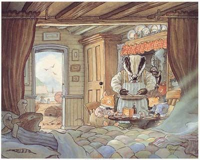 Caravan at the seaside ~ Foxwood Tales by Cynthia and Brian Paterson