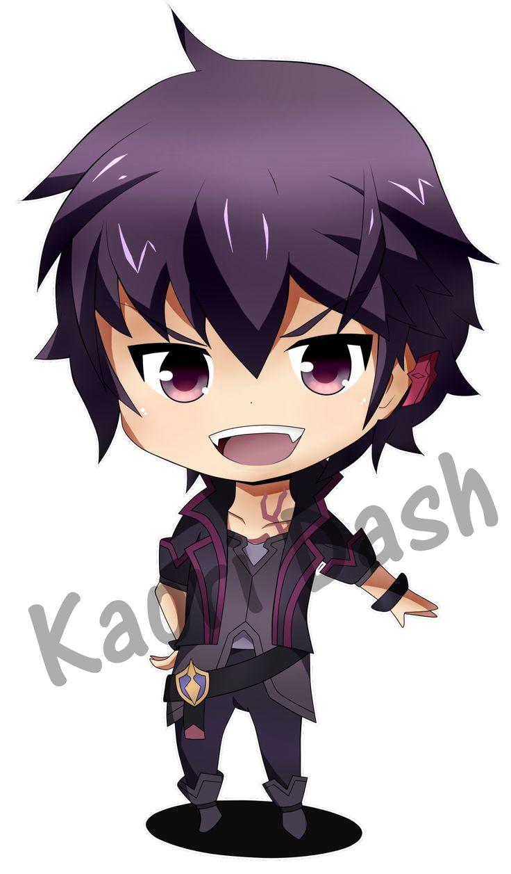 Hiiro (Seisen Cerberus) Chibi - Kaori Dash by kaori-dash on DeviantArt