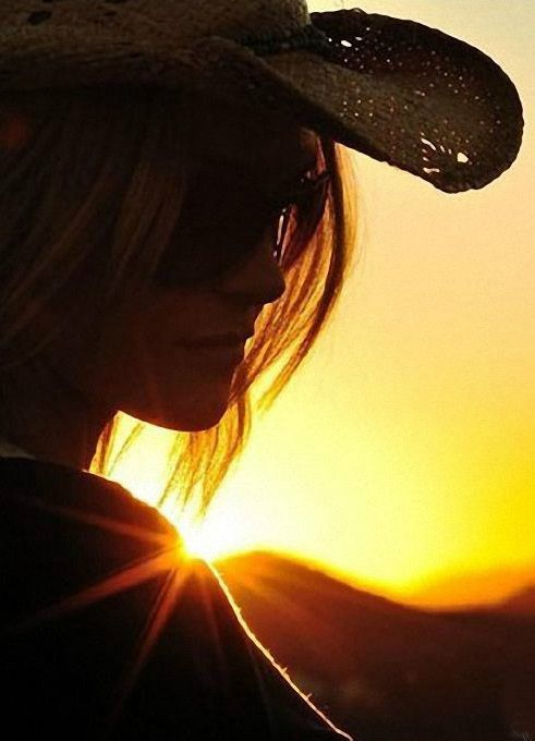 Black Hat Sunset