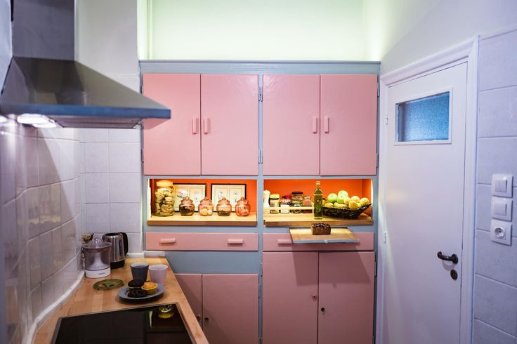 Art Deco House, Vintage Kitchen, Dimitra Marini, Architects