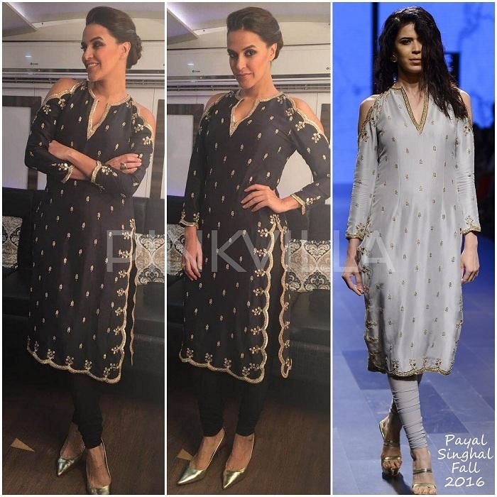 523e721ab2431 Yay or Nay : Neha Dhupia in Payal Singhal | Payal Khan | Fashion, Indian  fashion, Indian designer wear