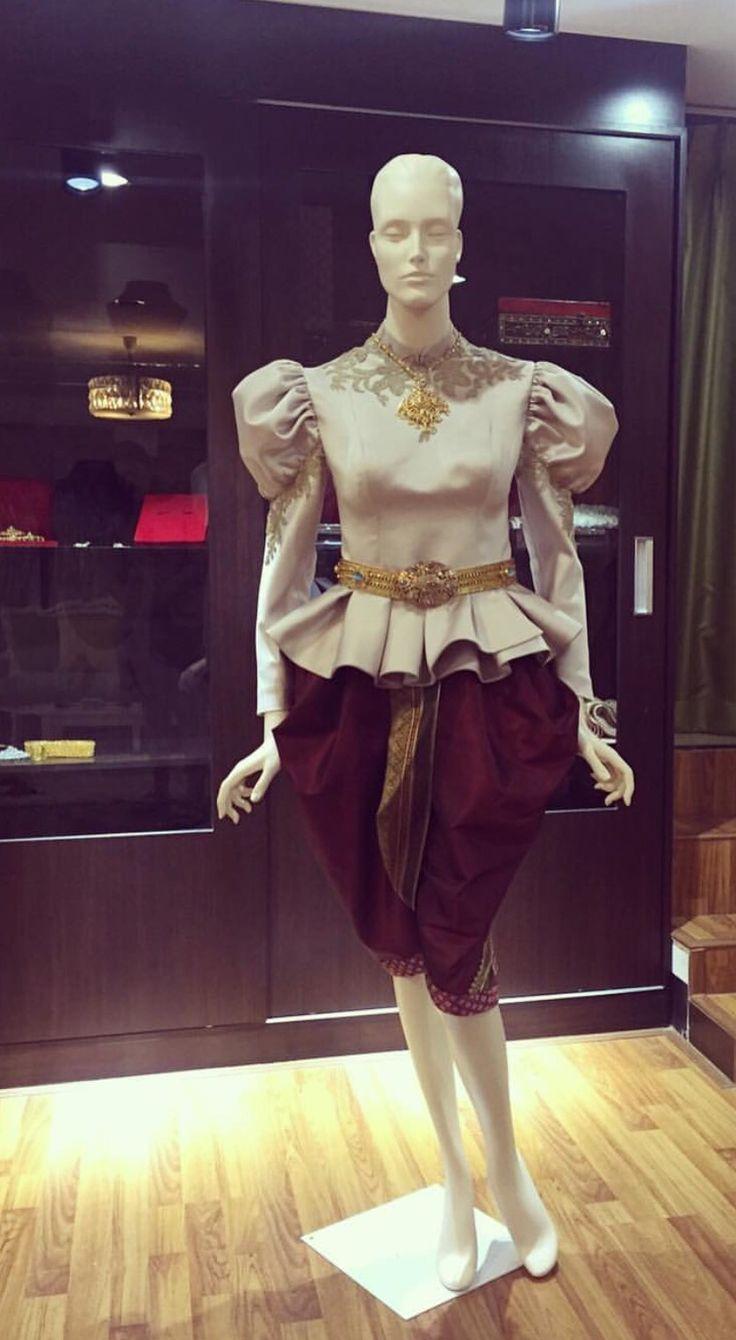 Thai dress traditional.