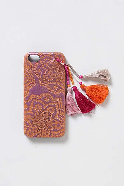 Tasseled iPhone 5 Case   Antropologie