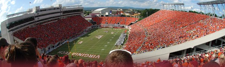 Legendary football players have spoken about HATING coming into Lane Stadium! :) You know when Enter Sandman starts .. its gonna get crazy!
