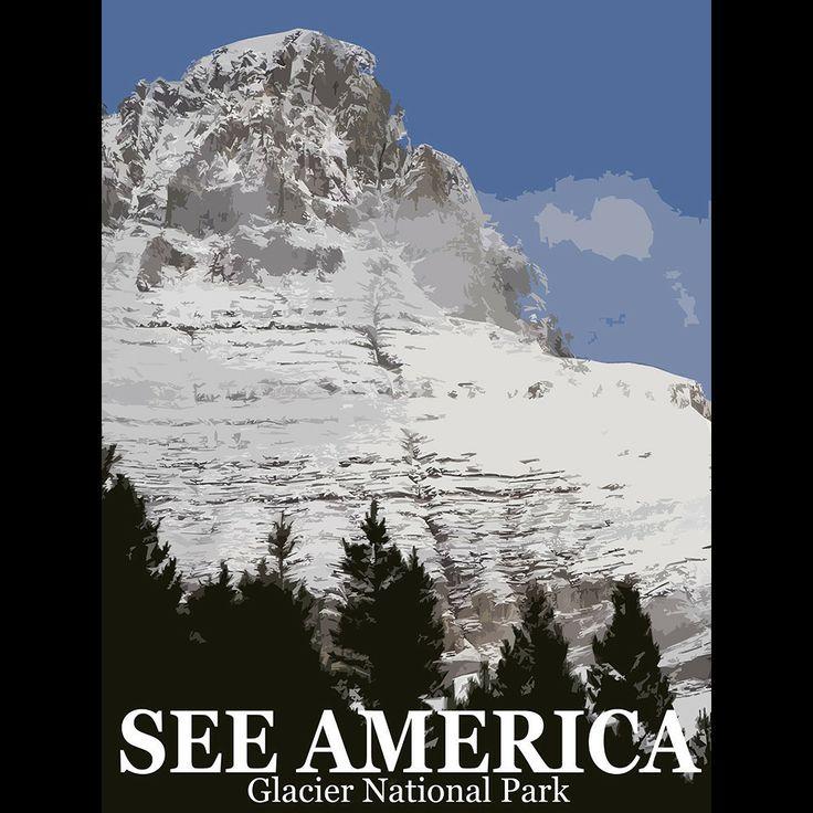 Glacier National Park by Bill Vitiello  #SeeAmerica: Place I D