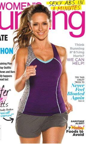 Jennifer Love Hewitt Weight Loss photo shows her on cover Women's Running Magazine
