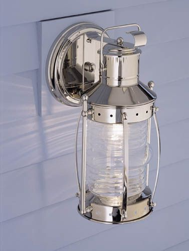 Norwell 1105-BR-CL Seafarer Outdoor Sconce   ATG Stores