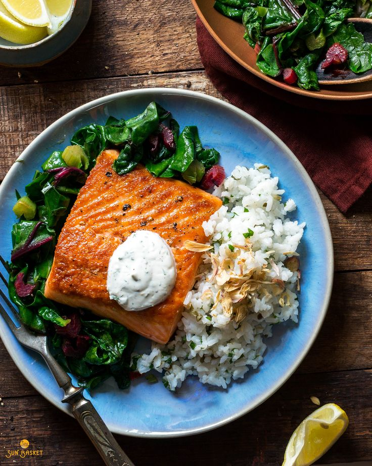 1591 best sun basket recipes images by sun basket meal delivery on this easy gluten free salmon and chard dish celebrates bright fresh herbs in forumfinder Choice Image