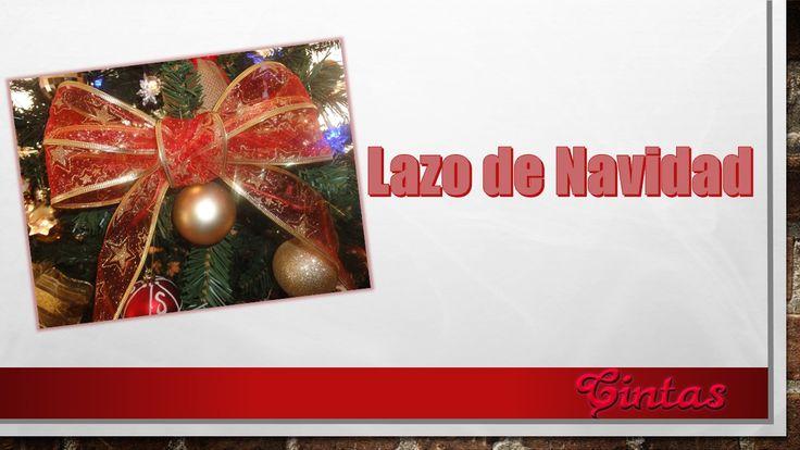 Este lazo está hecho con cinta de motivo navideño. Es un adorno ideal para decorar el árbol de navidad.   Te invito te animes hacerlo.  http://youtu.be/MW7JXccvmAg  http://crochetycintas.blogspot.co.uk/2014/12/lazo-de-navidad.html