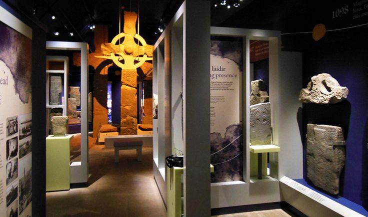 Iona Abbey Museum - Lighting Design by KSLD www.ksld.com