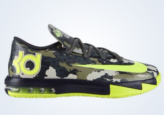 "Nike KD 6 GS ""Camo"" (First Look)"