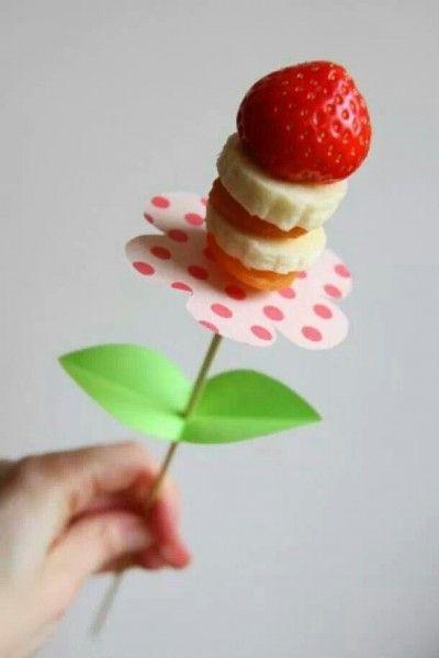 gezonde trakatie met fruit