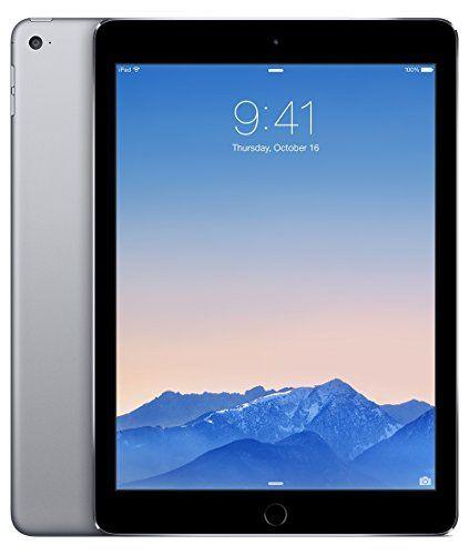 Apple iPad Air 2 128GB Factory Unlocked (Wi-Fi   Cellular 4G LTE, Apple Sim Card, Space Gray) Newest Version