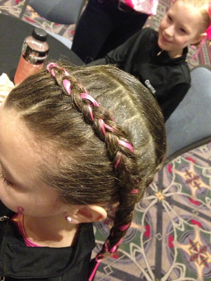 79 Best Gymnastics Meet Hairstyles Images On Pinterest