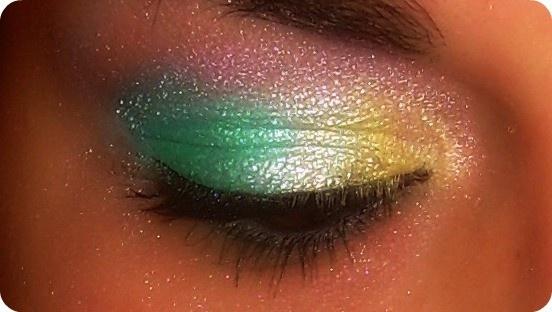 mermaid eye shadow! mermaid eye shadow! mermaid eye shadow!