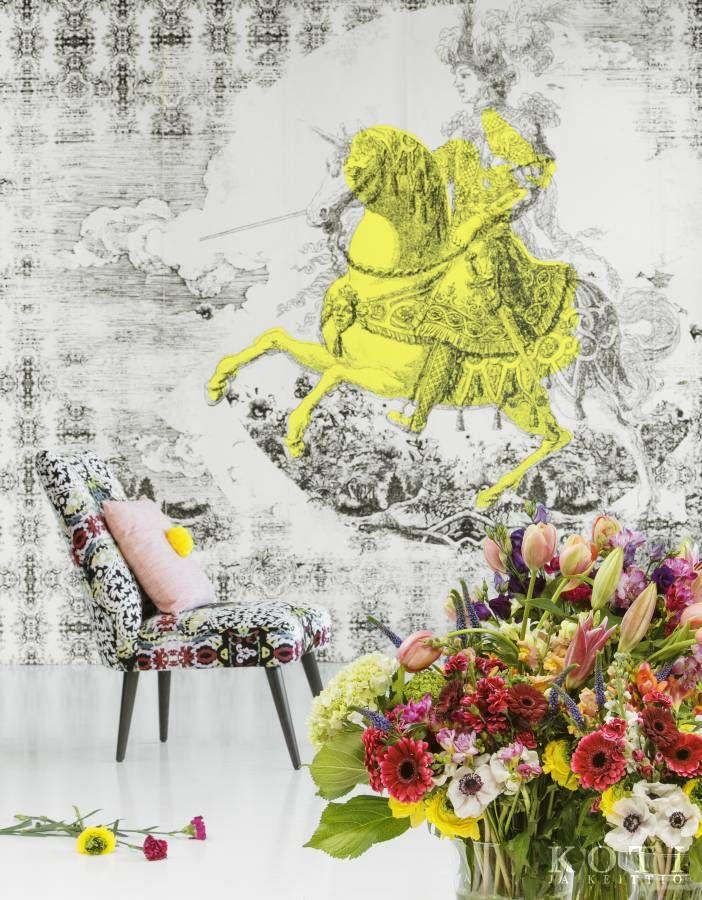 Kukkien ritari | Ruhtinaallista runsautta | Koti ja keittiö | Johanna Ilander | Kuva Arsi Ikäheimonen