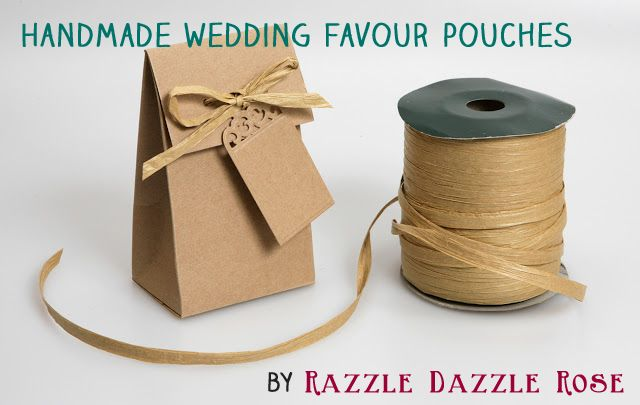 Handmade wedding favour pouches - lovely eco friendly idea for your wedding favours or even your natural flower petal wedding confetti!