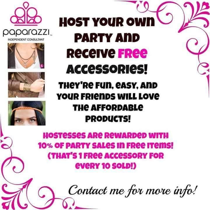 host your own party contact me today paparazzi On home jewelry party games