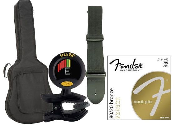 Acoustic Guitar Accessory Gift Pack