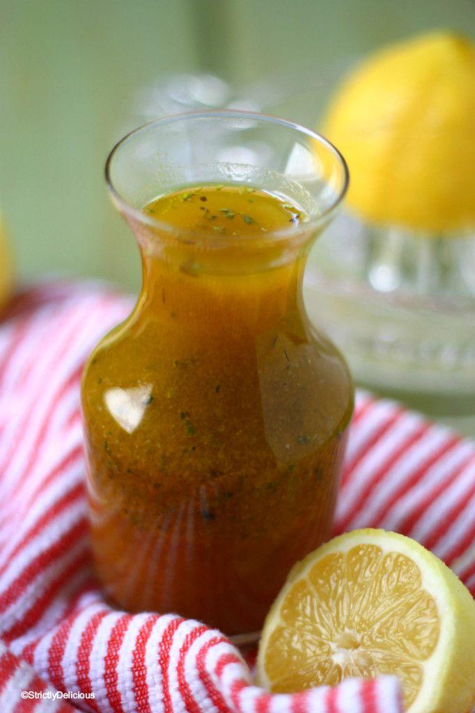 recipe: best lemon vinaigrette dressing [10]