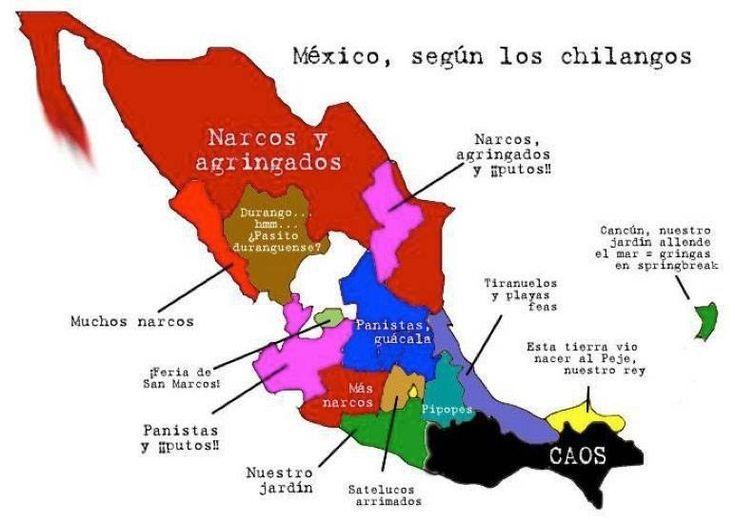 Mejores 277 imgenes de Mexicosus mapas y croquis en Pinterest