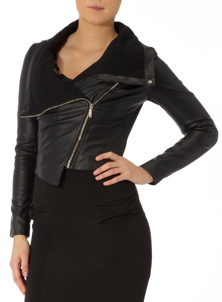 Kardashian Kollection PU Jacke