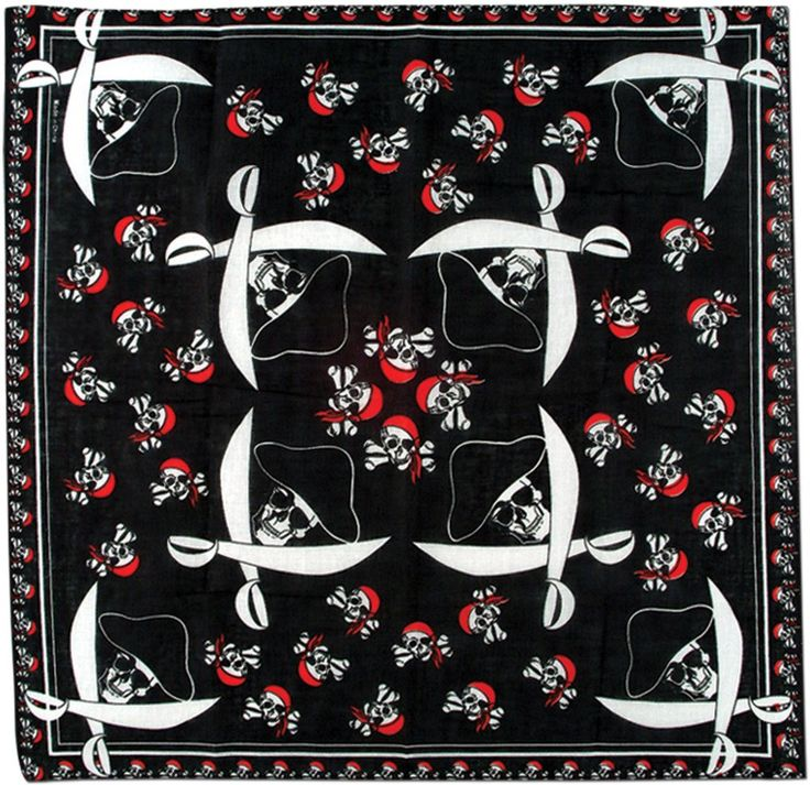 Pirate Bandana (Case of 24)