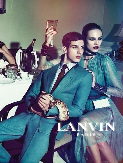 Lanvin S/S 2012 campaign. Photographed by Steven Meisel