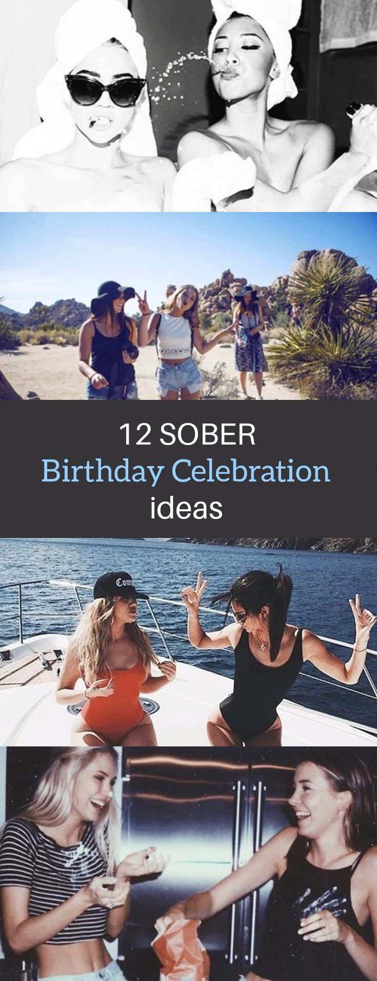 12 Sober Birthday Celebration Ideas