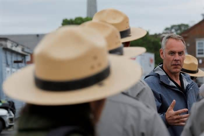 """Lucky Timing for Interior Secretary Ryan Zinke Re """"Puerto Rico Cancels Contract With Small Montana Firm to Rebuild Power Grid"""" (news article, Oct. 30): At least for now, Interior Secretary Ryan Zinke must feel like the luckiest person in Washington. If it weren't for his boss's troubles — the ..."""