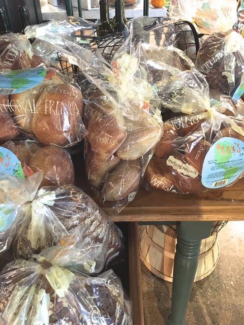 Sourdough wheat bread is now low FODMAP (2 slices)!