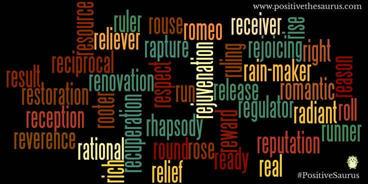 Positive nouns starting with r www.positivethesaurus.com #positivenouns #positivesaurus #nouns