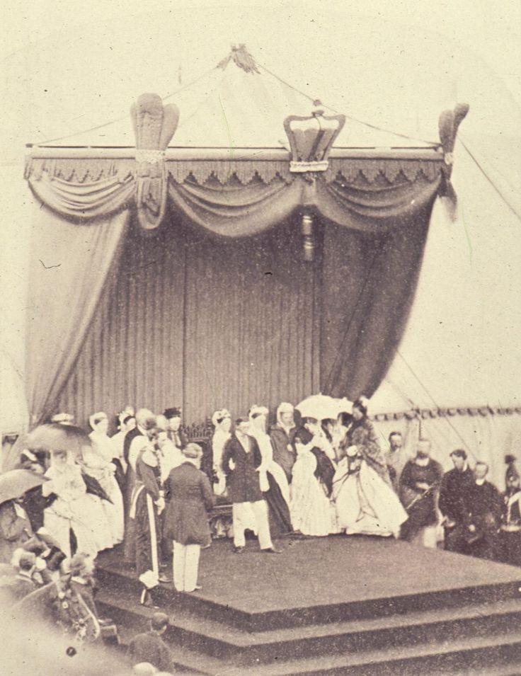 1860 : Albert opening the Albert Park in Middlesbrough