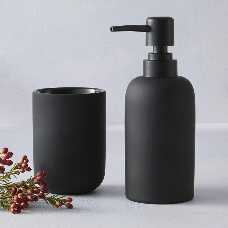 Black Soap Dispenser Scenes